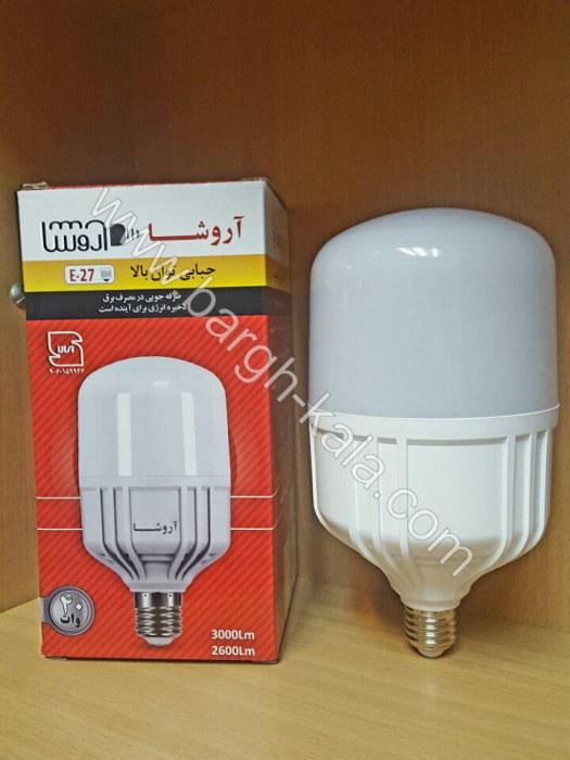 لامپ کم مصرف استوانه ای ۴۰ وات