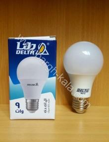 لامپ کم مصرف حبابی دلتا ۹ وات