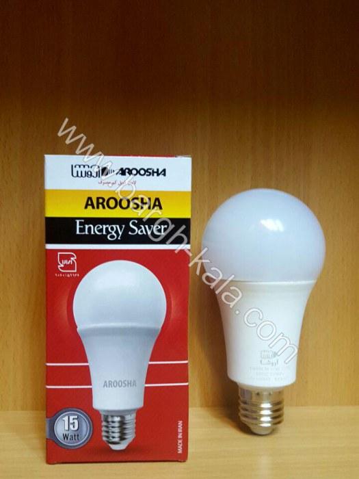 لامپ کم مصرف حبابی ۱۵ وات