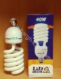 لامپ کم مصرف پیچی دلتا ۴۰ وات
