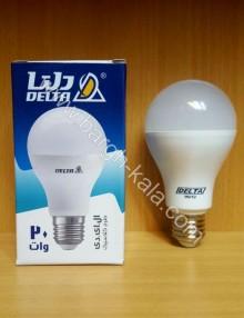 لامپ کم مصرف LED حبابی ۲۰ وات