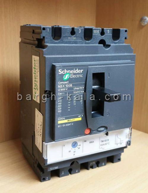 کلید اتوماتیک کامپکت اشنایدر Schneider 100A