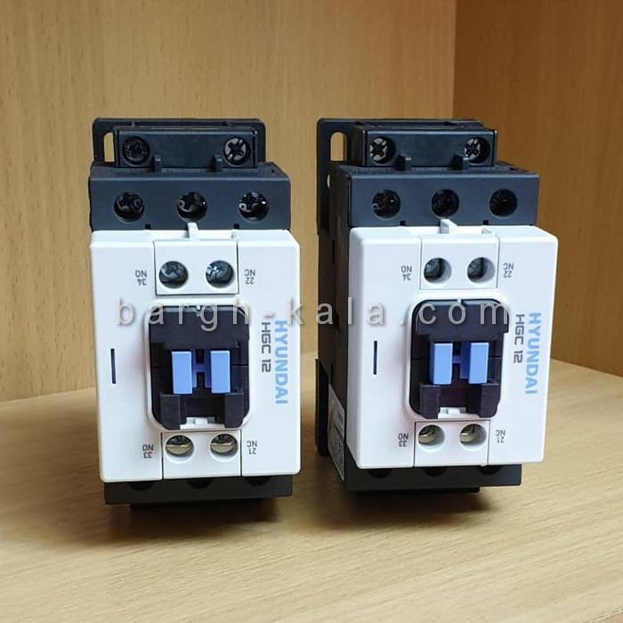 کنتاکتور 5.5KW HGC12 هیوندای کره Original