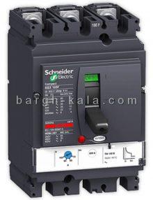 کليد اتوماتیک الکتریک سه پل 63 آمپر ظرفیت قطع 25KA اشنایدر Schneider