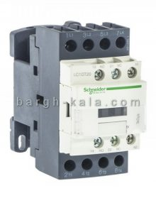 کنتاکتور اشنایدر الکتریک 20 آمپر 4 پل 220 ولت AC با 4NO