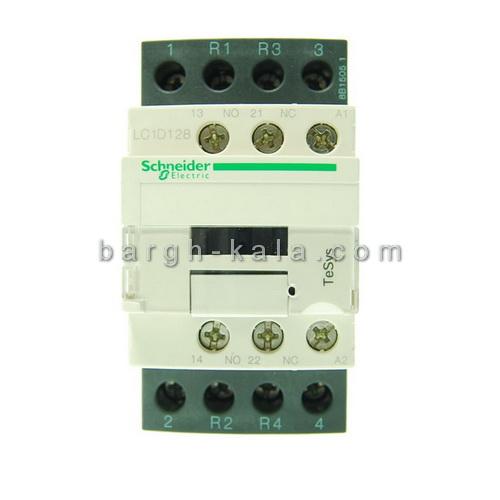 کنتاکتور اشنایدر الکتریک 25 آمپر 4 پل 220 ولت AC با 2NO+2NC