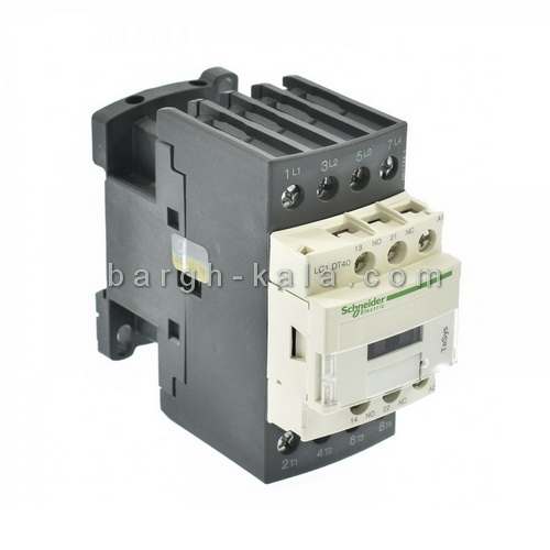 کنتاکتور اشنایدر الکتریک 40 آمپر 4 پل 220 ولت AC با Schneider 4NO